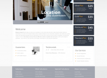 website morgan design
